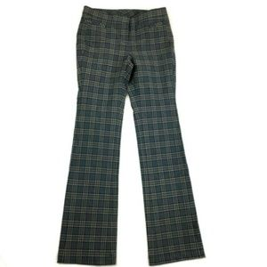 Worth Womens Plaid Career Pant Trousers Size 2